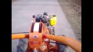 Мотоблок Мотор Сич с дизелем 6 л.с., звук мотора на 4-й передаче
