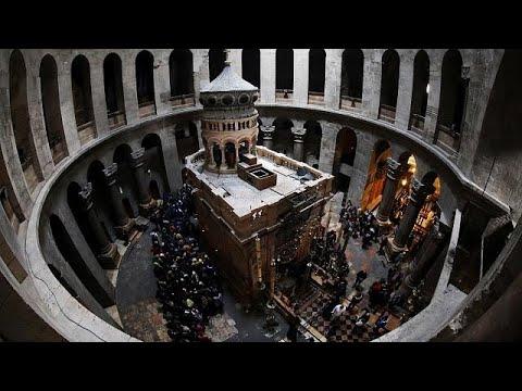 Grabeskirche in Jerusalem nach drei Tagen wieder offe ...