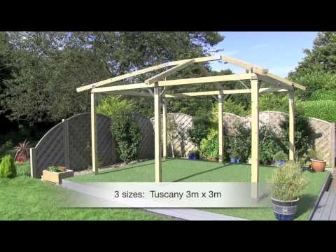 gazebos - A short video showing how easy it is to build one of our 'uniquely styled' gazebos. www.whitepavilion.co.uk info@whitepaviliongazebos.co.uk.
