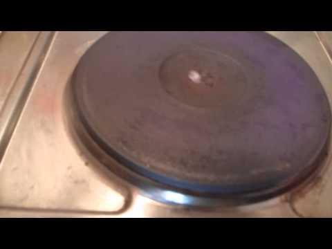 LEVITAZIONE DELL'ACQUA sui fornelli elettrici
