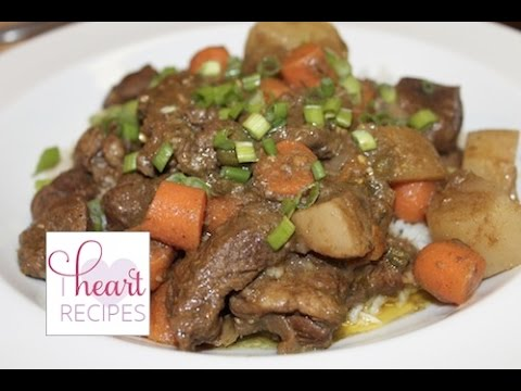 Easy Curry Lamb or Goat Recipe | I Heart Recipes