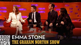 Corsets Made Emma Stone Breathless | The Graham Norton Show | BBC America