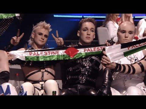 "Video - Το ""12αρι"" της Ισλανδίας στην Παλαιστίνη ήταν ο, τι καλύτερο συνέβη στην Eurovision"