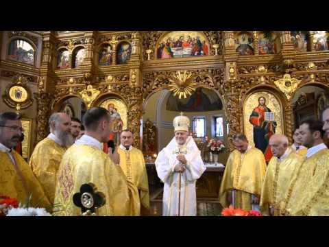 Празник Царя Христа у Василіянському монастирі в Івано Франківську 25 10 2015