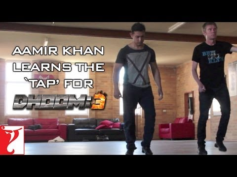 Watch Aamir Khan learn tap dance for Dhoom 3