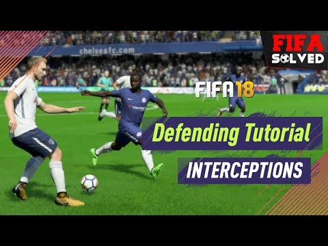 FIFA 18 Defending Tutorial | How To Intercept Tips
