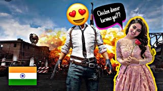 Pakistani girl asking Indian boy for a chicken dinner in pubg mobile Funny voice chat😂😂