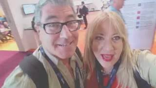 Lori and Randall Covering Social; Media at NAB and NMX in Las Vegas, NV.