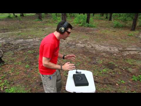 Biometric - Dustin Ellermann tests out the GunVault MicroVault Biometric in a speed test - both loaded and unloaded pistols. Loaded speed was 3.35 sec, speed to load the...