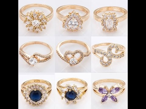 AMERICAN DIAMOND RING COLLECTION, DIAMOND JEWELLERY
