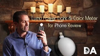 Lumu Power Light & Color Meter Attachment for iPhone | Review | 4K