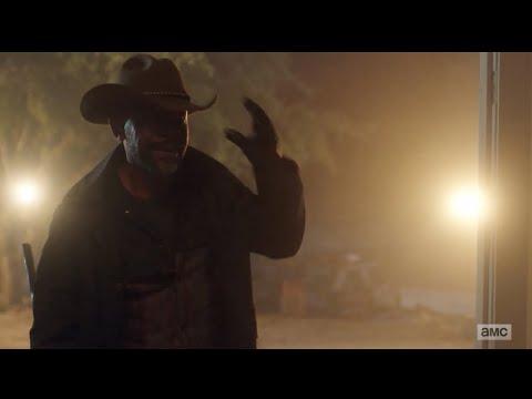 Morgan reunited with Alicia 6x7 Fear The Walking Dead Season 6 Episode 7