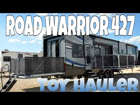 2017 Road Warrior 427 Toy Hauler Tour   Our Dream Home On Wheels   12. Road Warrior Life   RV Living