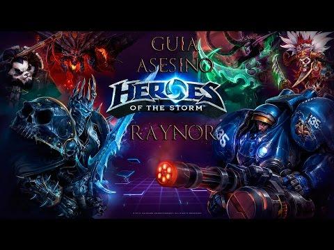 Guía Raynor Heroes of the Storm Español