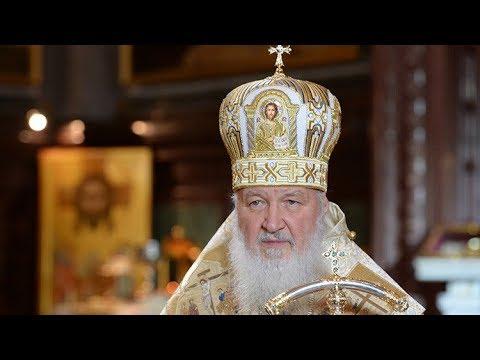 Misa navideña ortodoxa oficiada por el patriarca ruso