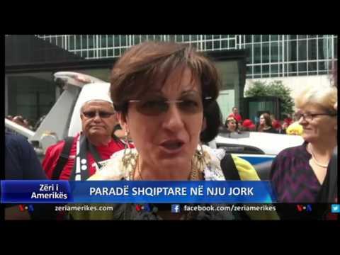 Parada shqiptare në rrugët e Manhatan, i vënë 'flakën' New Yorkut (Video)