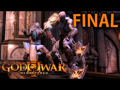 God Of War 3 Remastered - FINAL ÉPICO!!!! [ 60FPS Playstation 4 - Playthrough PT-BR ]