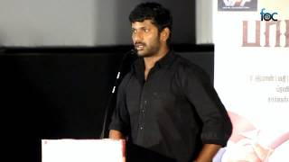 Vishal at Pandiya Naadu Audio Launch