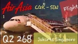 Video AirAsia QZ 268 Jakarta - Singapore | Now Everyone Can Fly - Flight Experience MP3, 3GP, MP4, WEBM, AVI, FLV Agustus 2018