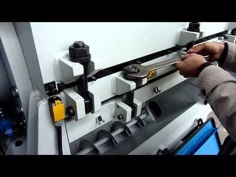 İnan Plastik Makinaları Kırma Makinası Elek Değiştirme, Bıçak Değiştirme