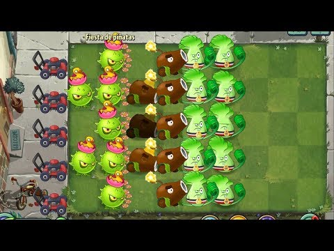 Plants Vs Zombies 2 Cardos Y Cañones