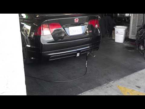 Civic si !!!!!!!! Smog check passed.. (bored)