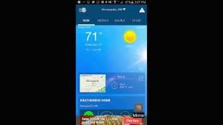 Weather by WeatherBug YouTube video
