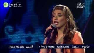Arab Idol -حلقة البنات - هايدي موسى - لولا الملامة