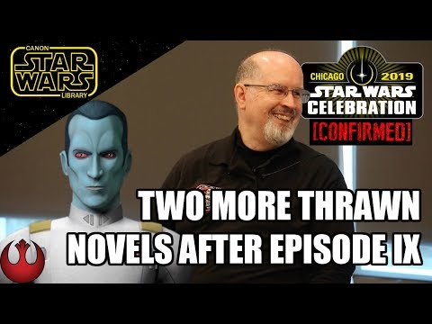 STAR WARS CANON PODCAST - Episode 3: Two More Thrawn Novels Coming After Episode 9!