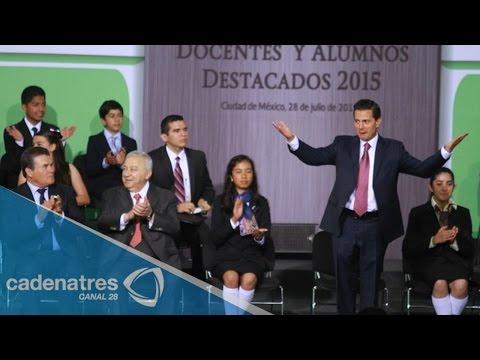 Buscamos recuperar el control de la educación en Oaxaca: Peña Nieto