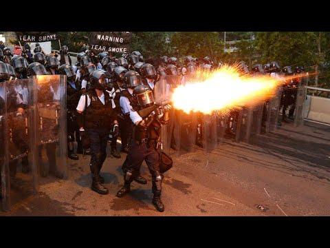China/Hongkong: Demonstrationen gegen das Auslieferun ...