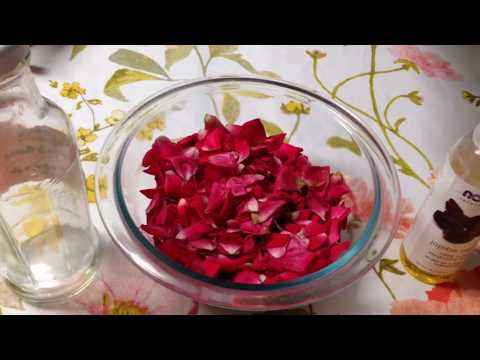Aceite De Rosas Rapido Y Fácil!!!/DIY Make Your Own Rose Oil Fast & Easy!!!!