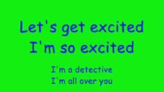 Alesha dixon let's get excited with lyrics