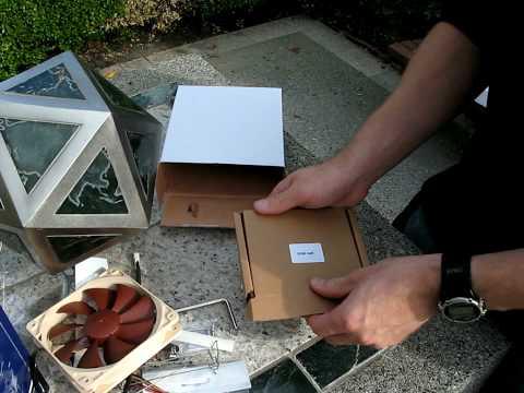 Noctua NH-U12P SE2 Core i5/i7 CPU Heatpipe Cooler Unboxing Linus Tech Tips