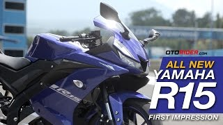 Video All New Yamaha R15 2017 First Impression - Indonesia (English SUbtitled) | OtoRider MP3, 3GP, MP4, WEBM, AVI, FLV Oktober 2018