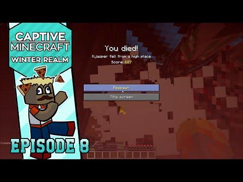 Dansk Minecraft: Captive Minecraft IV #08 - NETHER ER FARLIGT!