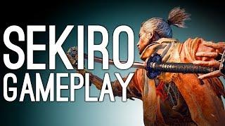 Sekiro Gameplay: SAMURAI GENERAL BOSS VS MIKE - Let's Play Sekiro Shadows Die Twice