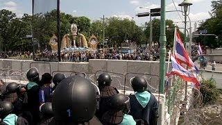 Gewalt Gegen Demonstranten In Thailand
