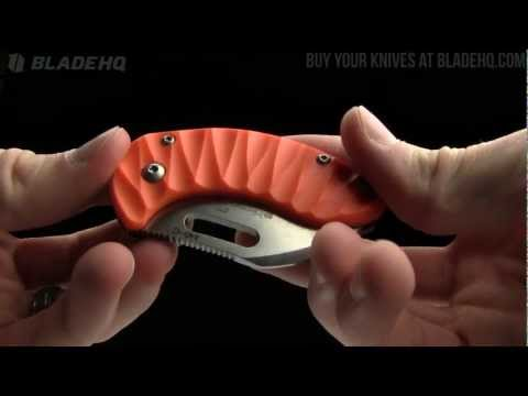 "Boker Plus Orange Nano Folding Knife Frame Lock (1.875"" Satin) Limited Edition"