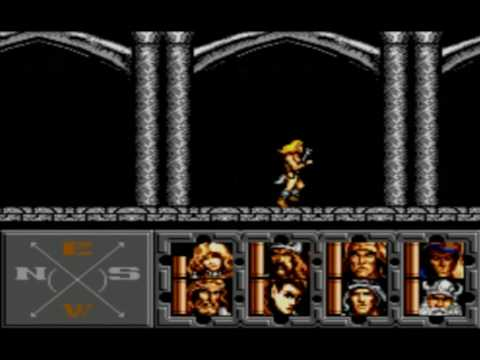 heroes of the lance master system review