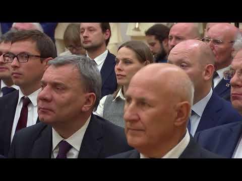 Церемония вручения госнаград работникам «Ростеха» - DomaVideo.Ru