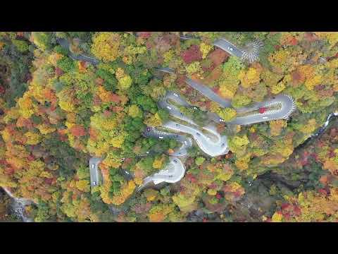 紅葉のいろは坂と華厳の滝