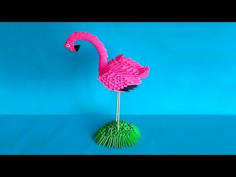 Bird Tutorial - 025 -- Flamingo