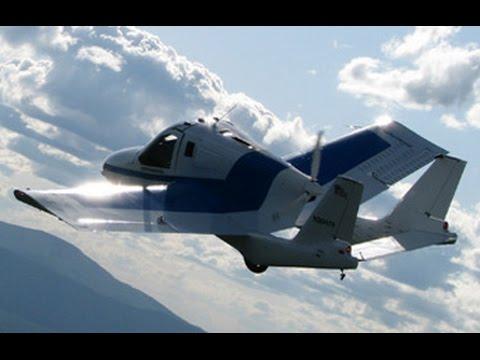 Το ιπτάμενο… αυτοκίνητο που καίει αμόλυβδη και παρκάρει εύκολα!