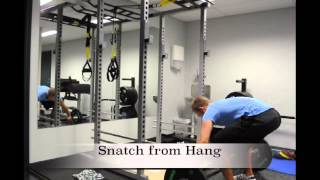 Exercise Index: Snatch from Hang