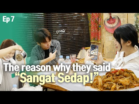 The reason why Korean people keep saying 'Sangat Sedap!' |Nasi lemak Stall in Seoul EP7