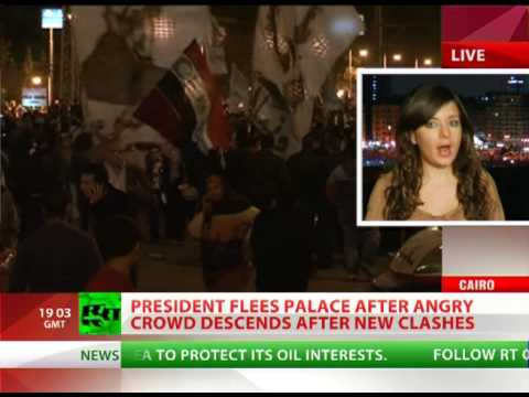 Egypt riots - Egypt's President, Mohammed Morsi, has been forced to flee his Cairo residence by a wild mob demanding an end to his rule. Riot police have struggled to keep...