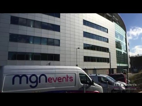 NHS BSUH Leadership Conference TimeLapse - AMEX Stadium Brighton by MGN events