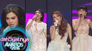 Video Gaya Nyebrang Ala Syahrini, Zaskia, Ayu, & JuPe [Dahsyat Awards 2016] [25 Jan 2016] MP3, 3GP, MP4, WEBM, AVI, FLV Juli 2018