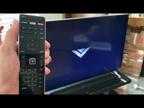 How to turn ON/OFF Vizio TV without a remote control!